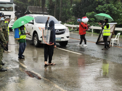 ASF Quarantine Measures in borders of Saranggani going to Davao