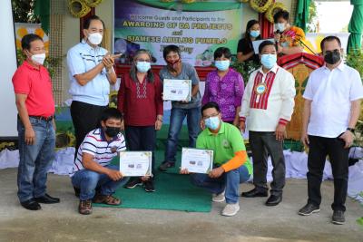 Awarding of DA Interventions for Nueva Vizcaya and Quirino farmers (Sept. 4, 2021)