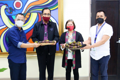 Ceremonial Turnover of Fruits from Mindanao (September 2, 2020)