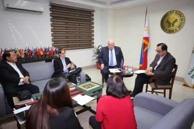 Courtesy call of New Zealand Ambassador to the Philippines
