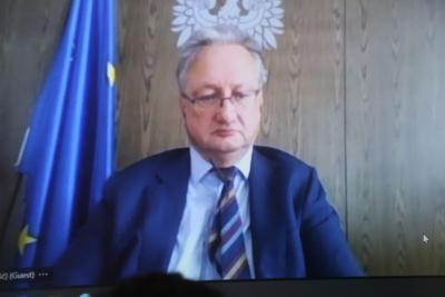 Courtesy Meeting with Poland Chargé d'affaires (Sept. 14, 2021)