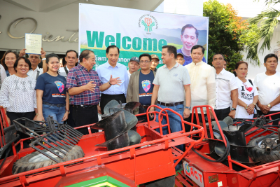 Distribution of Farm Machineries in Region 5