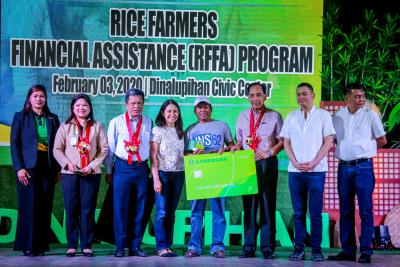 Distribution of RFFA in Central Luzon