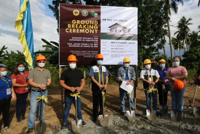 Groundbreaking Ceremony of Cow's Milk Processing and Marketing Enterprise (September 8, 2020)