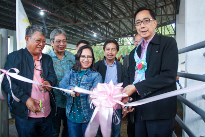Inauguration of Cattle Production, Breeding, and Training Center in Isabela