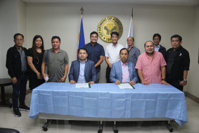 Inter-Agency MOU Signing for Coco Center