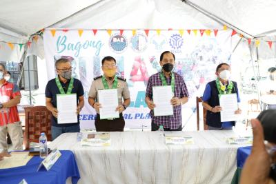 Launching of Bagong Buhay sa Gulay Project (Sept. 15, 2021)