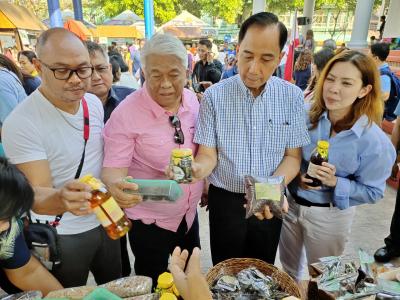 Launching of Kadiwa ni Ani at Kita in Cainta, Rizal