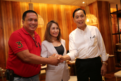 Meeting the Governors of Cebu and Negros Oriental