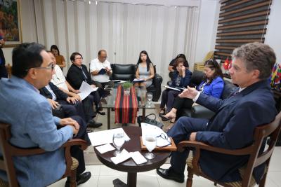 Meeting with Ambassador Michel Goffin of Belgium