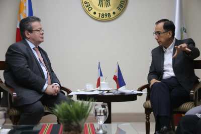 Meeting with Ambassador of France to the Philippines Nicolas Galey