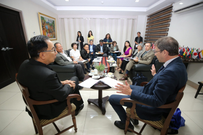 Meeting with the Delegation of the EU to the Philippines