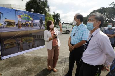 Opening of Kadiwa Outlet at DA-PCC in Nueva Ecija (Sept. 3, 2021)