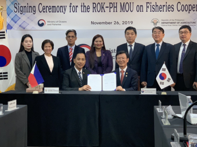 PH-ROK MOU Signing on Fisheries Cooperation