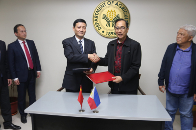 Phl, China MOU Signing on Food Safety