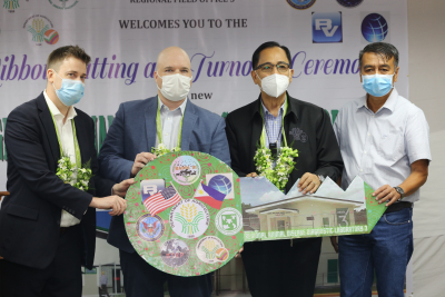 Ribbon-cutting and Turnover Ceremony of the new RADDL (September 14, 2020)