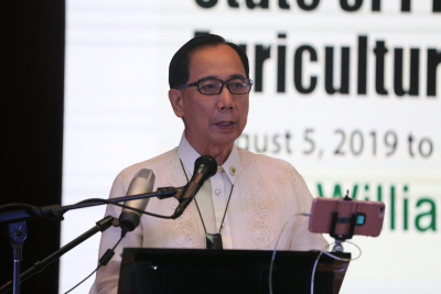 Sec. Dar's State of Philippine Agriculture Report (August 5, 2020)