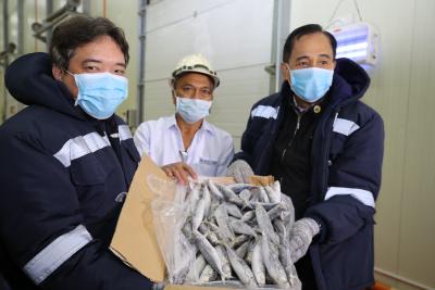 Secretary Dar's Visit at the Navotas Fish Port