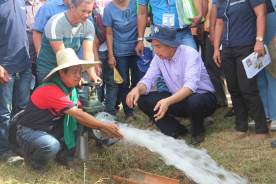 Turnover of Solar-Powered Irrigation System