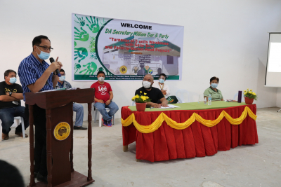 Turnover of Warehouses with Solar Dryer to PLGU Davao de Oro (September 9, 2020)