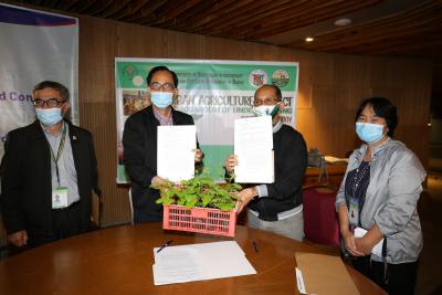 Urban Agri MOU Signing (June 19, 2020)